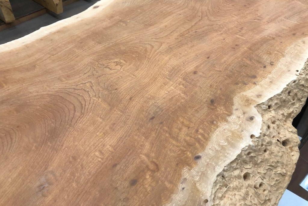 欅玉杢一枚板