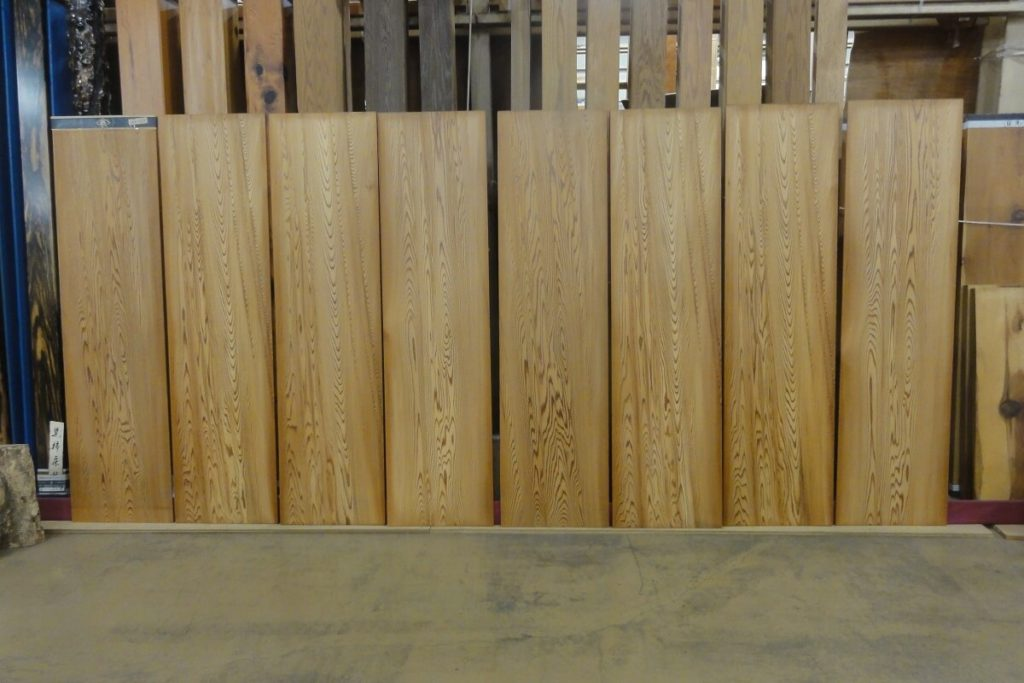 竿縁用 杉無垢天井板10001007
