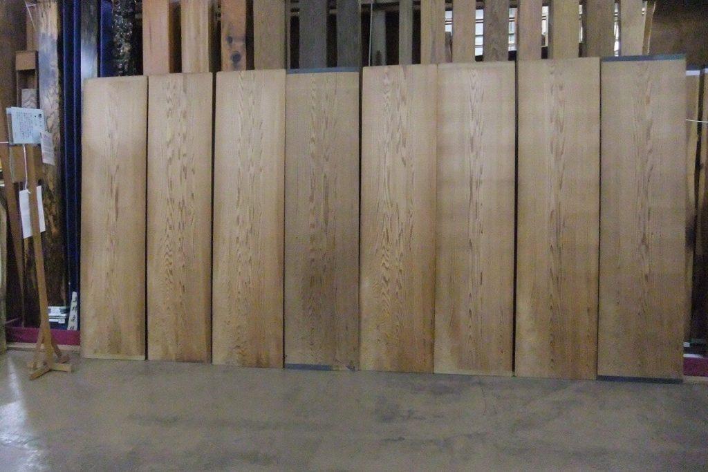 竿縁用 杉無垢天井板1000994