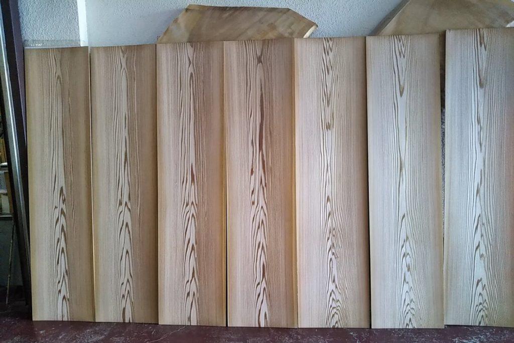 竿縁用 杉無垢天井板10011305